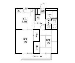 メイプルハウス[2階]の間取り