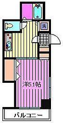 センチュリー南浦和[2階]の間取り