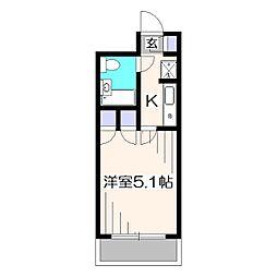 DKハイム[2階]の間取り