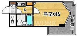 ライオンズマンション京都三条第2[301号室号室]の間取り