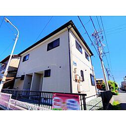 静岡県藤枝市田沼2丁目の賃貸アパートの外観