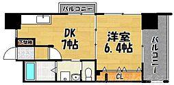 フェルト1113[2階]の間取り
