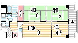 STマンション[107号室]の間取り
