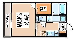 K's Residence瓢箪山[2階]の間取り