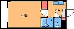 アルティ友丘[2階]の間取り