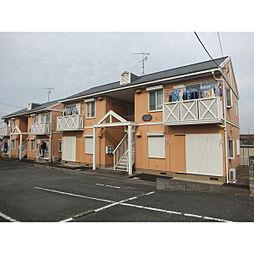埼玉県深谷市宿根の賃貸アパートの外観