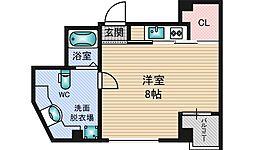 ベルグランデ新大阪[5階]の間取り