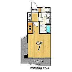 メゾンMINORU[206号室]の間取り