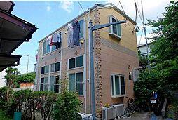神奈川県横浜市金沢区六浦南5丁目の賃貸アパートの外観