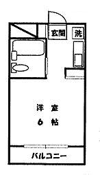 シティホームズ的場[4階]の間取り