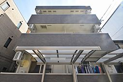 大阪府大阪市東住吉区北田辺6丁目の賃貸アパートの外観
