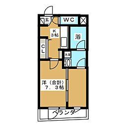 バリューIII[1階]の間取り