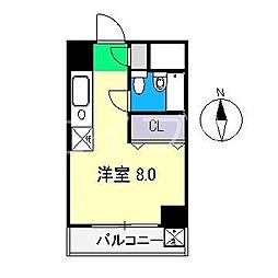 セ・ラ・ヴィ朝倉[3階]の間取り