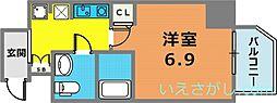グリーンネス神戸駅前[11階]の間取り