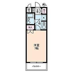 セザール清瀬中央公園[2階]の間取り