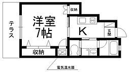 ルシアコート桜園[0101号室]の間取り