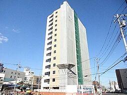 東京都日野市豊田3丁目の賃貸マンションの外観