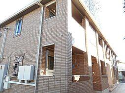 東京都国分寺市内藤2丁目の賃貸アパートの外観