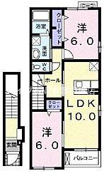サンリットヴィラ[2階]の間取り