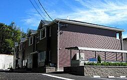 愛知県日進市赤池町箕の手の賃貸アパートの外観