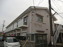 コーポ・パステル[1階]の外観