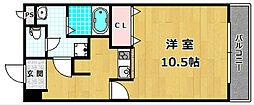 モンシャトー百済坂[2階]の間取り