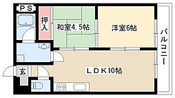 ハウス大屋敷[303号室]の間取り