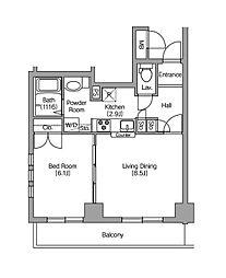 エスペランサ板橋II[6階]の間取り