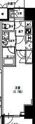 S-RESIDENCE曳舟 6階1Kの間取り