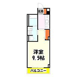 パーチェ・GARDENII[2階]の間取り