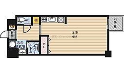 エスティライフ大阪都島 6階1Kの間取り