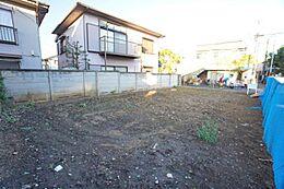 敷地面積は約40坪あります。使いやすい整形地です。