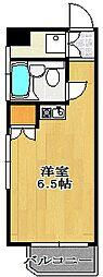 シティクレスト船橋[404号室]の間取り