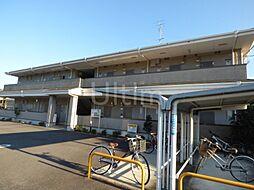 京都府京都市左京区岩倉中河原町の賃貸アパートの外観