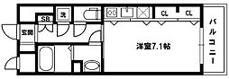 S-FORT新大阪ravir[6階]の間取り