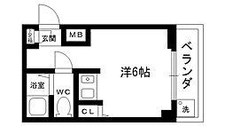 アーネスト坂田[303号室]の間取り