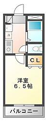 千葉県習志野市実籾5丁目の賃貸アパートの間取り