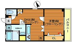 東京都武蔵野市吉祥寺本町2丁目の賃貸マンションの間取り