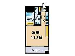 フェルト627[11階]の間取り