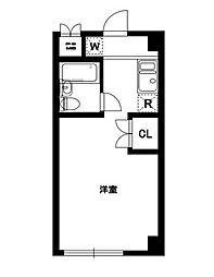 第2オークマンション[205号室]の間取り