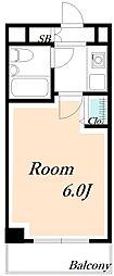ローズガーデンA75番館[2階]の間取り
