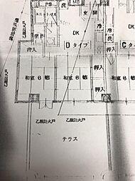 JR東海道新幹線 熱海駅 バス10分 市役所下車 徒歩1分の賃貸マンション 2階2DKの間取り