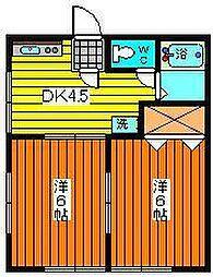 菅商マンション[203号室]の間取り