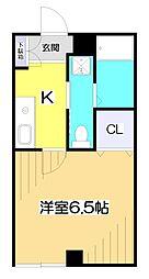 ベストビル[2階]の間取り