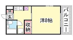 第7パークマンション[103号室]の間取り