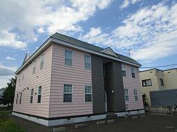 北海道札幌市北区あいの里三条5丁目の賃貸アパートの外観