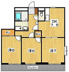 Maison de Rhodea[1階]の間取り