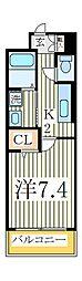 Acorde[3階]の間取り