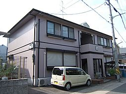 京都府宇治市宇治琵琶の賃貸アパートの外観