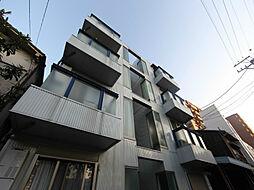 愛知県名古屋市中区新栄3丁目の賃貸アパートの外観